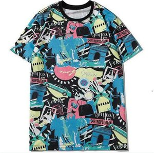 20SS Paris Designer Tshirts For Men Women Couple LOGO Tee Shirts With Letters 2020 Summer Short-sleeved Breathable Men Clothes S-2XL