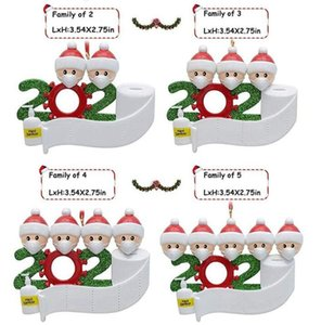 2 3 4 5 6 7 Fy4256의 장식 얼굴 마스크 생존자 가족을 매달려 2,020 검역 크리스마스 장식 생일 선물 장난감