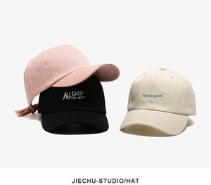 WK1iF allday Korean ins hat women s spring summer Korean style fashion all-match letter Pointed baseball capbaseball cap casual men s99
