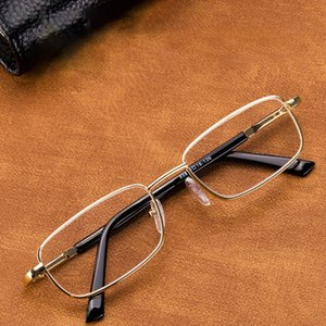 Glass Reading Glasses Men Women Natural Crystal Lens Diopter Eyewear Anti Scratch Anti-fatigue Eye Protect Read +100 150 200 250