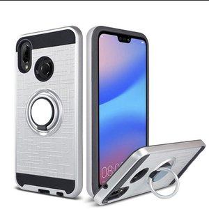 E5 Zırh E5 Paketi G6 ile Moto 7 4 Vaka Perakende 360 Hybrid Artı Kullanıcılar Motorola Zil Pixi Derecesi MetroPCS Telefon Alcatel sqjd Play