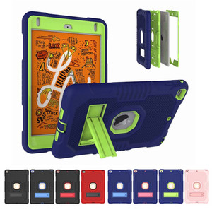 Military Extreme Heavy Duty silicone pc shockproof case for ipad 10.2 pro 11 newipad 9.7 air4 mini45 samsung T510 P610 T290 amazon HD 8 PLUS