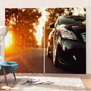 Rennwagen / Sport Auto Vorhänge Duschvorhang 3D-Druck Room Home Modernen Vorhang für Wohnzimmer Bunten Vorhangs