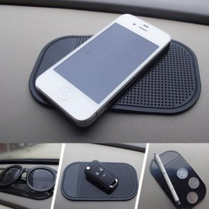 Car Anti-Slip Dashboard Sticky Pad Mat For Phone Glasses Magic Sticky Gel Pads Holder Auto Interior Silicone Mat GWB1855
