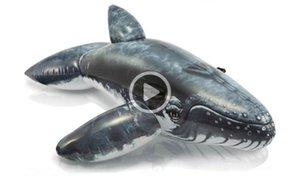 COOL! Mounts baleines réalistes Lézards monter Paddle monte blackfish eau pour adultes les enfants jouent iatable flotte animaux jouets de l'eau.