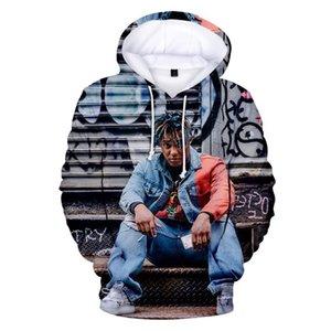 Juice Wrld Mens Hooded Hoodie Hip Hop Fashion Streetwear Hoodies Men Women Pullover Sweatshirts Hoodies Unisex Stylist Hoodies A005