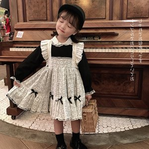 tong li fu tong li funew meninas outono infantil empregada vestir Palace vestido estilo princesa para crianças DHrFv