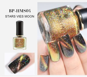 3D di scintillio Magnetic Nail Polish 6ml Chameleon Cat Eye smalto per unghie Smalto nero Base Necessario