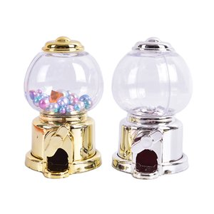 Enfants mignon bonbons Mini Candy Machine Bubble Distributeur Tirelire Money Saving Box Baby Noël anniversaire meilleur cadeau pour les enfants