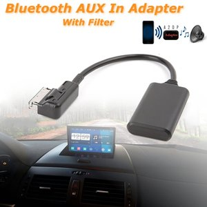 Car Wireless Bluetooth Module Music Adapter Auxiliary Receiver Aux Audio Cable For W212 S212 C207 Radio Media Interface