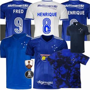 2020 2021 كروزيرو EC لكرة القدم الفانيلة كروزيرو FRED DODO تياجو نيفيز HENRIQUE 20 21 الرجال والاطفال كرة القدم قميص
