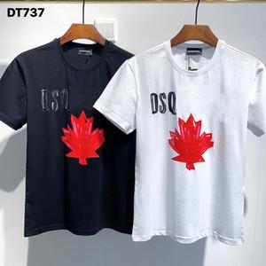 DSQ Phantom Kaplumbağa 2020ss Yeni Erkek Tasarımcı T Gömlek İtalya Moda Tişörtleri Yaz Erkekler DSQ T-shirt Erkek En Kaliteli 100% Pamuk Top 4016