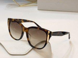 جديد 4040 تأتي العلامة التجارية مصمم المسامير الأزياء شعبية نظارات الشعبية نظارات الشمس مجموعة مع الماس الإطار النظارات الشمسية تصميم والعين مع القط cstu