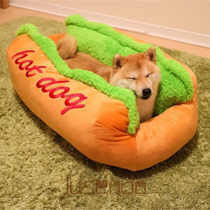 Dog Bed Various Size Large Dog Lounger Bed Kennel Mat Soft Fiber Pet Puppy Warm Soft House Product for and Cat