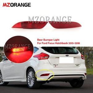MZORANGE LED 리어 범퍼 라이트에 대한 포커스 해치백 2,020에서 2,020 사이 후면 테일 라이트 반사판 경고 램프 FogLight 안개 램프