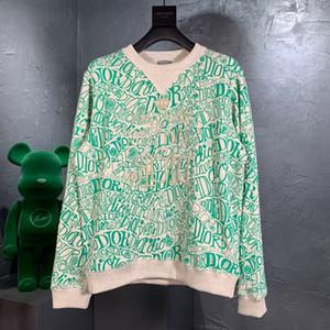 Livraison gratuite 2020fw Automne / hiver cachemire jacquard T-shirt Pull ciel sur la terre des hommes et sweat à capuche étudiant manteau de vêtements 9c femmes