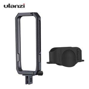 Marco de acción de la cámara ulanzi Vlog jaula cubierta protectora de aluminio de aleación con cubierta de lente Compatible con Insta360 UNO X fotografía