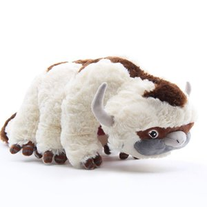 New arrival 100% Cotton Avatar Last Airbender 45CM Appa Plush Toys Soft Juguetes Cow Stuffed Toy For Gifts NOOM026