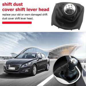 Engrenagem Speed Shift Knob Shifter substituição para Peugeot 307 engrenagem do carro alavanca de câmbio de inicialização para Peugeot 307 207 Citroen C3 C4 C5 Parts