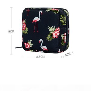 High Quality Travel Mini Cosmetic Bag Travel Convenient Waterproof lipstick Bag Storage Jewelry Foundation Lip Balm Package 2019