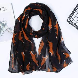 Neck Warmer Netter Protective Balinese Garn Geschenk Elegante bewegliche weiche Polyester Frauen Schal Druck Zubehör Multifunktions