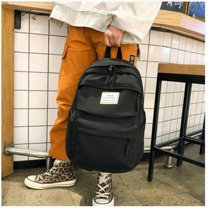 Girl Bag for School Teenage Backpack Women Oxford Waterproof Large Book Bag Big Black Leisure College Style Teen School Bag 2019