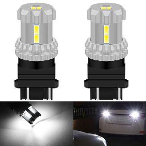 2x 3157 3156 T25 P27 7W P27W LED Canbus Auto Bulbs for Car Brake Reverse Backup Light DRL Turn Signal Tail Lamp 12V White Amber