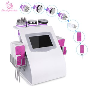 6 in 1 Vacuum Ultrasonic Cavitation Vacuum RF Fat Burning Device Ultrasonic Facial Weight Loss Machine Fat Reduction Laser Body Silm Machine