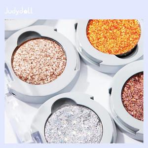 Single Color Eyeshadow Palette Glitter Diamond Shine Sequins Metallic Glitter Eyeshadow Long-lasting Waterproof