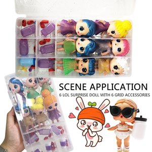 2020 usa cartoon doll set kid Action figures doll Girls' Christmas gift toy 6pcs lot zx02