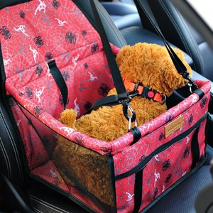 Puppy Pet Car Seat Carrier 600D Nylon Waterproof Folding Thick Travel 2 in 1 Carrier For Dogs Car Pets Cat Dog Protector