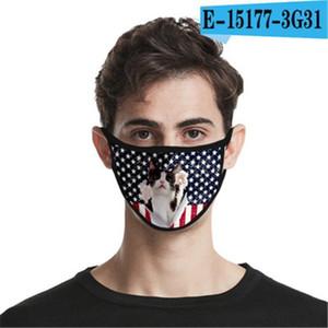 Bouche Lavable Masque d'expédition réutilisable coton face à la conception Er Designer Masque Masque Linen # Wgyj