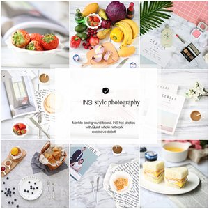 Background Material Double-Sided Difference Drawing Simulation Marble Texture Tabletop Shooting Pography Backdrop Paper Po Studio Accessorie