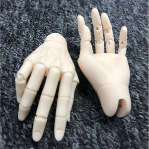 Dolls Jointed Hands For 1 3 BJD Male Doll W Joints Connectors & Head Patch& CaCa Clean Skin Color