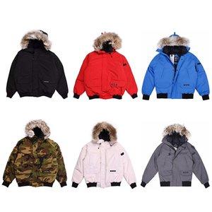 자켓 겨울 코트 남성과 여성의 커플 재킷 두꺼운 다운 재킷의 하이 엔드 버전 캐나다 겨울 따뜻한 다운 공장 직접 판매 거위