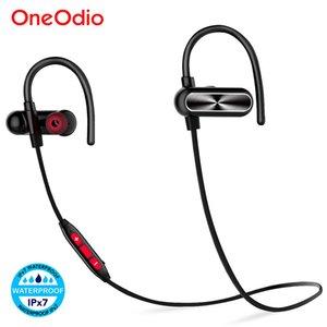 Bluetooth Kulaklıklar IPX7 Su geçirmez Kablosuz Kulaklık Stereo Spor Kulaklık ile Mikrofon İçin Telefon aptx Oneodio