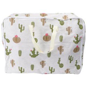 1Pc Quilt Drawstring Bag Quilt Blanket Dustproof Storage Pouch for Traveler
