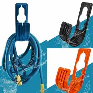 1Pc New Garden Yard-Schlauchleitung Halter-Aufhänger Hosepipe Bewässerung Lagerung Haken Rack-Reel