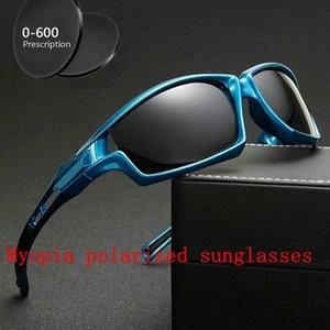 Frauen Sonnenbrille Sonnenbrille Vintage 2020 Quadratische Gläser Sun Myopia Marke FML Minus Polarisiert für Retro Unisex Männer Verschreibung avine