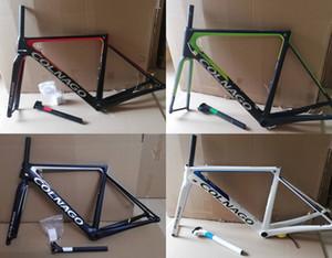 2020 T1100 UD Colnago V3Rs cuadros de carretera de carbono de bicicletas de marcos disco disco 12 * 100 12 * 142 mm con un 46/49/52 / 54cm