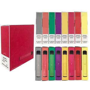 Hot Puff Plus Disposable Vape Pen Device 800 Puff 3.2mL PreFilled PodS Vape Cartridge 550mAh Battery puff xxl FLOW disposable e cigarett