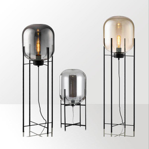 Oda Pulpo Nordic postmodern endüstriyel rüzgar cam zemin lamba salon top sanat minimalist zemin lambası