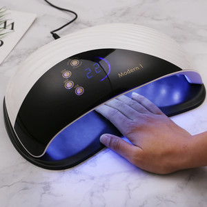 New Modern Whale Scale Design 120w Nail Dryer Machine Large LCD Screen Autosense Nail Lamps 42 Leds Quick Drying UV LED Lamp 200924