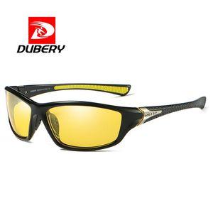DUBERY Night Vision Protection Sunglasses Men's Driving Shades Elegant Sun Glasses For Men Brand Oculos Gafas De Sol 2020
