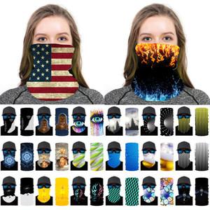 3D печати Магия оголовье шарф Face Cover банданы Спорт Headwrap Многофункциональный Бесшовные Bandanas Мужчины Женщины GWB1849