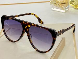 600 óculos de sol para mulheres Goggle Envoltório UV Proteção Gato Modelo de olho grande quadro de cor dupla com caso