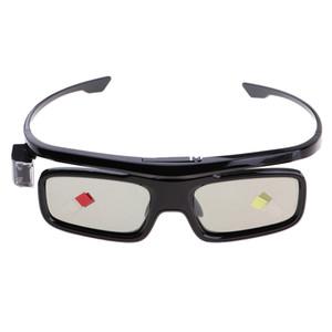 Ricaricabile Bluetooth Mini 3D attivi dell'otturatore DLP Link proiettore Occhiali # 3