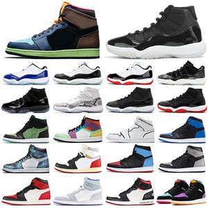 nike air jordan retro 1s 11s Air Rétro Jordan Chaussures de basket-ball Fab SP Michigan Grape Laney TROPHY ROOM Hommes formateurs Baskets de sport 7-13