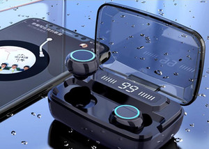Original Auriculares Wireless M11 TWS Bluetooth 5.0 en la oreja reducción auricular Ruido HiFi IPX7 Headset impermeable para sports1