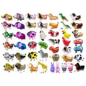 Pet Animal Helium Alluminio Foil Balloon Automatic Sealing Kiding Baloon Giocattoli regalo per Natale Matrimonio Compleanno Party Forniture